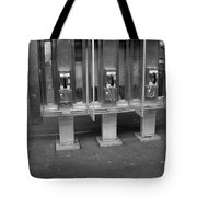 Phone Booth In New York City Tote Bag