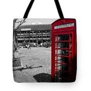 Phone Box London Tote Bag