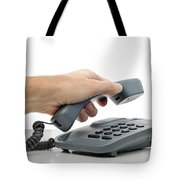 Phone Call Tote Bag