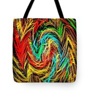 Phone Case Art Bold And Colorful Abstract Geometric Textures Designs By Carole Spandau 128 Cbs Art  Tote Bag by Carole Spandau