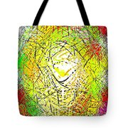 Phone Case Art Intricate Abstract City Network Geometric Design By Carole Spandau 131 Cbs Art   Tote Bag by Carole Spandau
