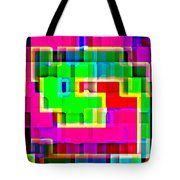 Phone Case Art Intricate Colorful Dynamic Abstract City Geometric Designs By Carole Spandau 131 Cbs  Tote Bag