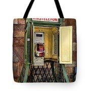 Phone Home - Telephone Booth Tote Bag