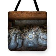 Phone Shelf  Tote Bag