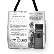 Phonograph, 1916 Tote Bag