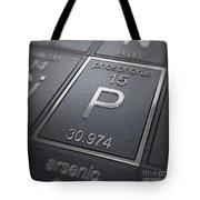Phosphorus Chemical Element Tote Bag