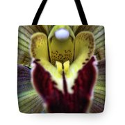 Orchid Center Tote Bag