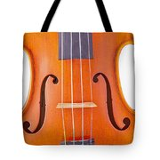 Photograph Of A Viola Violin Middle In Color 3374.02 Tote Bag