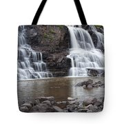 Photograph Of Lower Gooseberry Falls In Minnesota Tote Bag