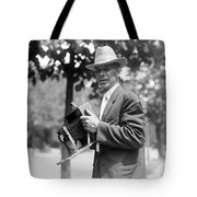 Photographer And Camera Tote Bag