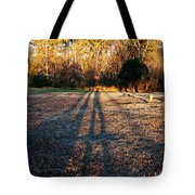 Photographer Shadow Tote Bag