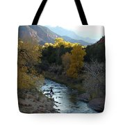 Photographing Zion National Park Tote Bag
