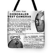 Photography Camera, 1889 Tote Bag