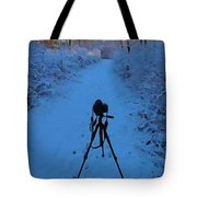 Photography In The Winter Tote Bag