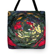 Photoshop Flowers Tote Bag