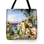 Phryne At The Festival Of Poseidon In Eleusin Tote Bag