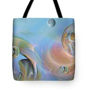 Phun With Quasars Tote Bag