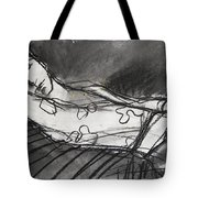 Pia #5 - Figure Series Tote Bag by Mona Edulesco