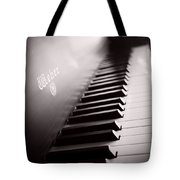 Piano At The Sprague House Tote Bag