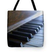 Piano Keys Tote Bag by Jon Neidert