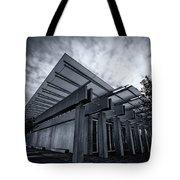 Piano Pavilion Bw Tote Bag