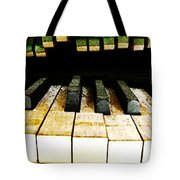 Piano Triptych Tote Bag