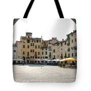 Piazza Del Mercato Lucca Tote Bag