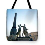 Piazza Del Quirinale Tote Bag