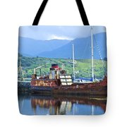 Pibroch Glascow Rusty Ruin Tote Bag