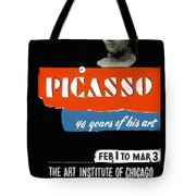 Picasso 40 Years Of His Art  Tote Bag