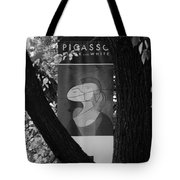 Picasso In Black And White Tote Bag