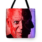 Picasso In Light Sketch 2 Tote Bag