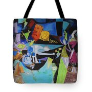 Picasso   Night Fishing At Antibes Tote Bag