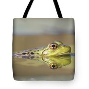 Pickerel Frog Nova Scotia Canada Tote Bag