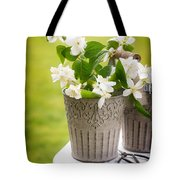 Picking Blossom Tote Bag