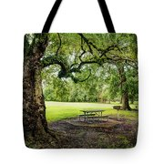 Picnic At The Park Tote Bag