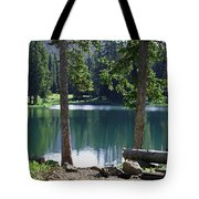 Picnic By The Lake Tote Bag
