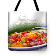 Picnic Fresh Salad Tote Bag