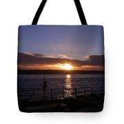 Picnic Sunset Vancouver Island Tote Bag