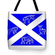 Pictish Scotland Flag Tote Bag
