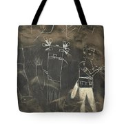 Pictograph 3 Tote Bag
