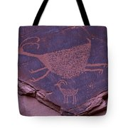 Pictograph Monument Valley Tote Bag by Garry Gay