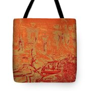 Pictographs Tote Bag