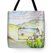 Picture In Picture Tote Bag