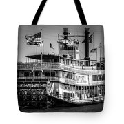 Picture Of Natchez Steamboat In New Orleans Tote Bag by Paul Velgos