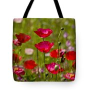 Picture Perfect Poppies Tote Bag