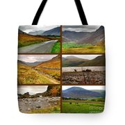 Autumn Picture Window Of The Lake District Tote Bag