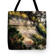 Pictured Rocks In Pastel Tote Bag