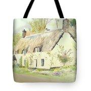 Picturesque Dunster Cottage Tote Bag