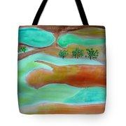 Picturesque Landscape Tote Bag